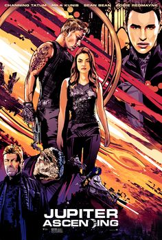 New Jupiter Ascending Posters Bring the Intergalactic Awesomeness | WIRED