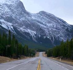 One of the best driven routes yet! Ice field Parkway Columbia, Banff, Canada