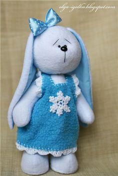 conejita azul