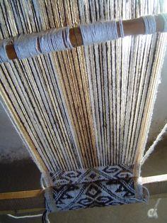Asi nace un telar, del taller Newentuy Zomo - Fuerza de mujer - en Rukachoroy Adventure, Fabric, Inspiration, Home Decor, Weaving Looms, Strength, Atelier, Women, Tejido