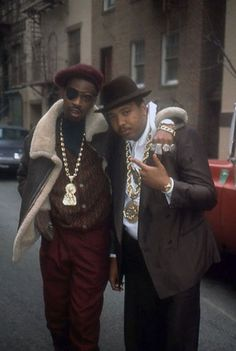 Ricky Powell – Slick Rick and Run, NYC