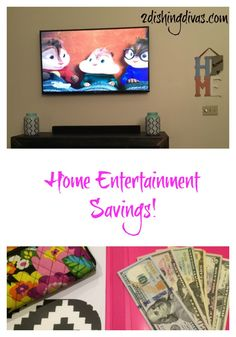 Want to save money on home entertainment? Who doesn't?! Here are two great tips to help you do just that!