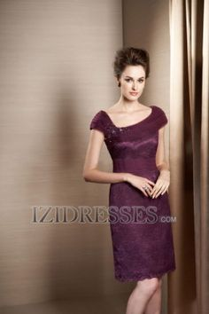 Sheath/Column Straps Lace Mother of the Bride Dresses - IZIDRESSES.com