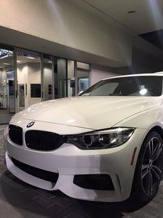SOLD! 2015 BMW 435i M-Sport in Alpine White! Client Advisor Thomas Bull-Cecil.