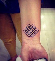 Karma Symbol Tattoo Buddhist - 30+ Knot Tattoos