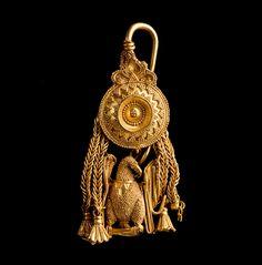Pendiente de oro. Íberos. Museo de Zaragoza