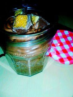Crunchie Cake in a Jar