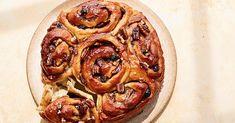Apple-Pecan Pull-Apart Rolls Healthy Bread Recipes, Healthy Breads, Apple Recipes, Pull Apart Rolls Recipe, Pecan Rolls, Cinnamon Rolls, Thing 1, Toasted Pecans, Cooking