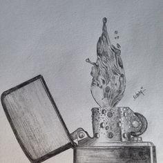 #completed #zippo #lighter #steel #water #flame #shading #sketch #sketching #sketchbook #art #artist #pencil #clutch #worldofpencils #prophetsandpoets #artfido #artnerd #bestdrawing #artcollective #artofdrawing #artnetwork2014 #nawden