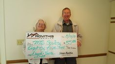 Congratulations to David and Joette Duff on the purchase of your new condo!  Thanks for putting your trust in Steven Rovithis and I.  We will be donating a portion of our earned commission to the MS Society, the charity of your choosing. #rovithisrealty #whoyouworkwithmatters