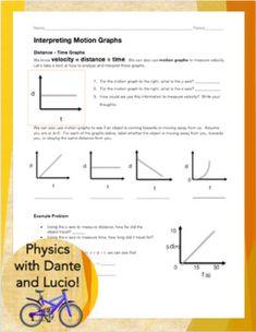 Scaffolded Kinematics Practice: Velocity, Distance, Time ...