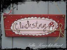 Romantic Door Sign _Türschild Glückstag_ Gute-Laune-Schild The post Romantic Door Sign appeared first on Vorgarten ideen. Diy Crafts Love, Diy Crafts For Adults, Crafts To Make, Fun Crafts, Mosaic Garden, Garden Art, Macrame Projects, Diy Projects, Happpy Birthday