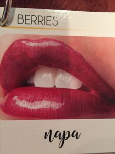 Napa has been ordered, and it's on it's way. #LipSense Find me on FB Glam' R Up