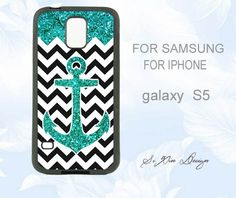 Glitter Anchor Samsung galaxy case Anchor galaxy by colorphonecase, $6.99