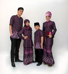 Busana Muslim Couple Keluarga Ayah Ibu dan Anak  9faf5db5ae