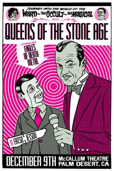 QUEENS OF STONE AGE flyer by Morning Breath