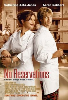 Rent No Reservations starring Catherine Zeta-Jones and Aaron Eckhart on DVD and Blu-ray. Get unlimited DVD Movies & TV Shows delivered to your door with no late fees, ever. One month free trial! Catherine Zeta Jones, No Reservations Movie, Love Movie, Movie Tv, Movie List, Movies Showing, Movies And Tv Shows, Thriller, Peliculas Audio Latino Online