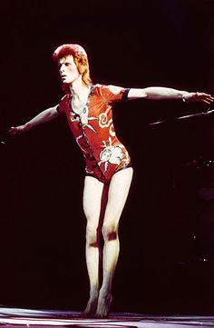 David Bowie's Fashion Evolution