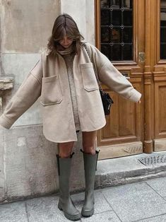 Fall Winter Outfits, Autumn Winter Fashion, Autumn Style, Winter Fashion Outfits, Look Zara, European Fashion, European Street Style, Look Fashion, Coat