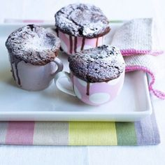 Chocolate Self-Saucing Puddings Recipe Ideas - Healthy & Easy Recipes