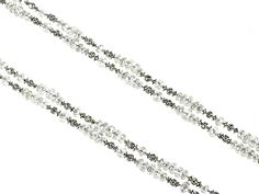 Platinum Diamond rondelle necklace total length 44.5. Diamond weight 40.61ct  http://www.luciecampbell.com/necklaces/All/1352--1/  £ContactUs  richard@luciecampbell.com  Lucie Campbell Jewellers Bond Street London  http://www.luciecampbell.com