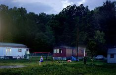 Gregory Crewdson. 'Untitled (Trailer Park)' from the series 'Beneath the Roses' 2007