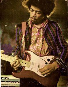 God Jimi Hendrix from the Jimi Hendrix Experience