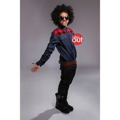 Princeton from Mindless Behavior – exclusive photos | Rolling Out -... ❤ liked on Polyvore featuring accessories, mindless behavior, mb, princeton, boys and people