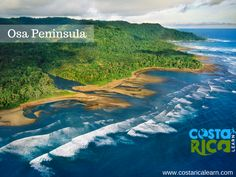 The Osa Peninsula is located in the Southern Pacific area of Costa Rica and is wild and unspoiled, Mostly accessible by plane or boat. The packaged tours are all inclusive and include lodging, food, transportation & some tours into the national park. Book Now https://costaricalearn.com/contact #visitcostarica #CostaRica #travelcostarica #costaricavacation #familyvacation #couplevacation #osapeninsula