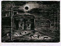 Untitled 1926 Oswaldo Goeldi