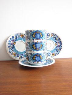 Villeroy & Boch Izmir Coffe Cup and Saucer Set by ModernSquirrel