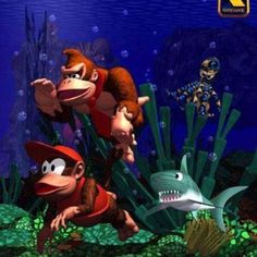 Stream Donkey Kong Country OST - Aquatic Ambience (VYRS Remix) by VYRS from desktop or your mobile device Donkey Kong 64, Donkey Kong Junior, Donkey Kong Country, The Donkey, Super Nintendo, Nintendo Games, Arcade Games, Banjo Kazooie, Rendering Art
