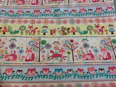 SPX Fabrics  Forest Friends sold by thr half by holmfirthfabric
