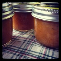salted mango jam with lime. I made this without the salt.  So good!