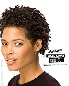 Tight Curly Hair - Coil Out