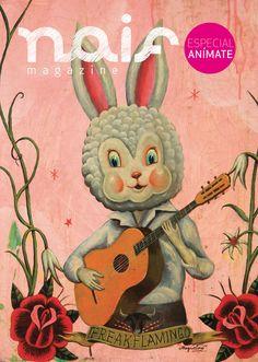NAIF Magazine - cover by Sergio Mora