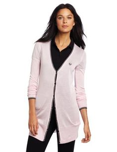 Fred Perry Women's Long Line Cardigan Fred Perry. $180.00. Cardigan. Long line. 70% Silk/30% Cotton. Hand Wash