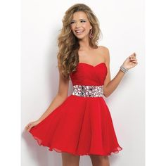 Sweetheart Mini Red Chiffon A Line Cocktail Homecoming Dress Obp0084 ($129) ❤ liked on Polyvore featuring dresses, a line cocktail dress, cocktail homecoming dresses, evening dresses, chiffon cocktail dresses and red mini dress