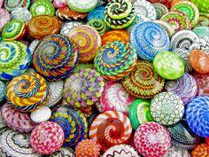 Beautiful buttons by Jari Sheese - wonderful.