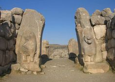 Lions Gate Hattusha (Bogazkoy, Turkey)- Cyclopian Walls