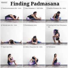 #LotusPose, #Padmasana. It's not easy to find ease and comfort in this posture especially when held for long periods of time so here's a sequence to help nudge those tight hips and legs towards it. Unfortunately this is one of those poses you can't muscle your way into so be gentle and patient with yourself and allow time and space for your body to open up.  _ #RuthsYogaTips - . . . . . . . #yoga #yogasingapore #yogaeverydamnday #myyogajourney #yogastrong #yogadaily #strong #fitspiration ...