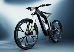 Audi e-bike. When Audi apply their design and technological values to the e-bike concept