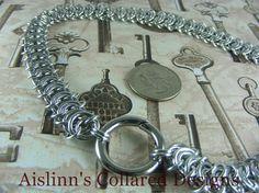 Vertebrae BDSM Gorean Slave Collar Choker by aislinnscollared