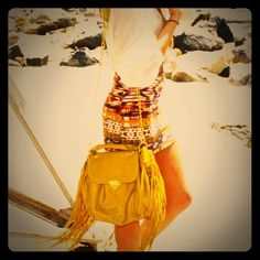 Melie Bianco Mustard  Boho Chic Fringe Bag Brand new with tags and protective bag, this super cute bag can be both a Crossbody tote or an over the shoulder purse. Totally on trend - fringe and mustard yellow, the color of the season. Brand new, never been used. Premium vegan leather. Melie Bianco Bags Shoulder Bags