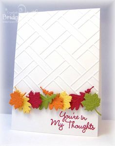 HYCCT1206 Leafy Thoughts by bfinlay - Cards and Paper Crafts at Splitcoaststampers