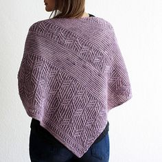 Ravelry: Traces in the Sand pattern by Lisa Hannes