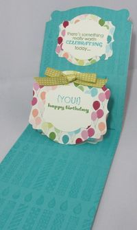 5 Fabulous Projects Using the Stampin' Up Pop n' Cuts by Sizzix - some basic directions and a video in the post.  Diane Dimich - there are follow on videos for most of the projects as well.
