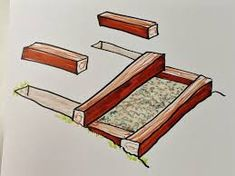 How do I build pressure treated landscape steps with crushed granite landing and steps? Timber Garden Edging, Lawn Edging, Deck Lumber, Home Depot Paint Colors, Crushed Granite, Landscape Steps, Landscape Design, How To Build Steps, Wood Chipper