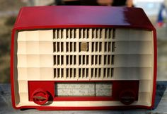 Vintage Radio by Philips