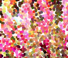 Multicolor Confetti fabric by lesfleursdemimi on Spoonflower - custom fabric